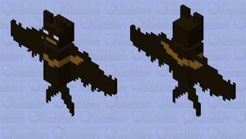 Bat with a Batman Logo Minecraft Mob Skin