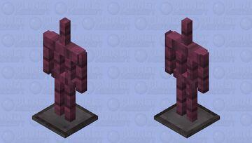 Crimson Armor Stand Minecraft Mob Skin