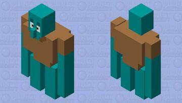 Squidward Minecraft Mob Skin