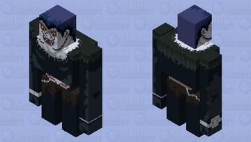 someone has the death note ... Minecraft Mob Skin