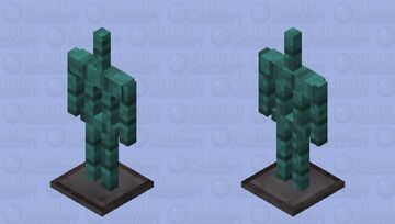 Warped Armor Stand Minecraft Mob Skin
