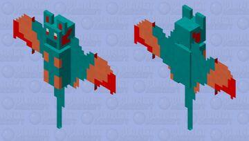 Wings of fire Glory as bat Minecraft Mob Skin