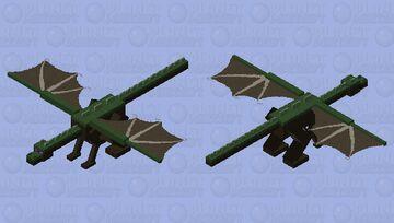 Grass Dragon Minecraft Mob Skin