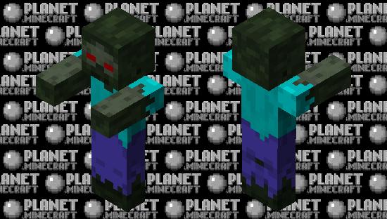 Rotten Zombie (Red Eye) Minecraft Skin