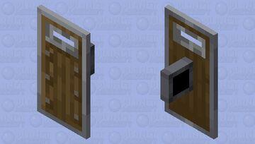 Windowed Shield Minecraft Mob Skin
