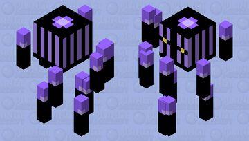 Chandelure Blaze Minecraft Mob Skin