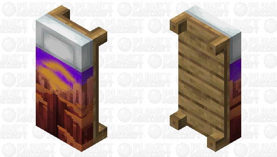Bed ''Grand Canyon'' Minecraft Skin