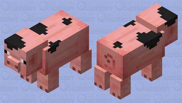 Parti Pig Minecraft Mob Skin