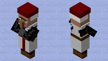 Knight Templar Priest Minecraft Mob Skin