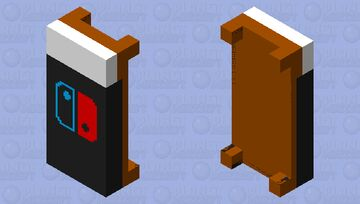 Nintendo Switch Bed Minecraft Mob Skin