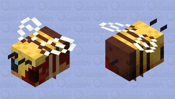 Bee's anatomy Minecraft Mob Skin