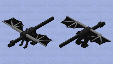 Ender Dragon Normal | Moments Skin Ender Dragon Minecraft Mob Skin