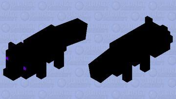 Ender Fox Minecraft Mob Skin