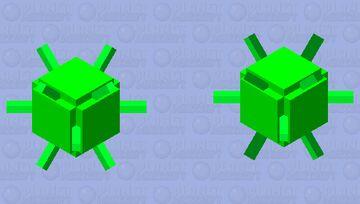 Virus Minecraft Mob Skin