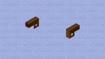 Small Fake Gun Minecraft Mob Skin
