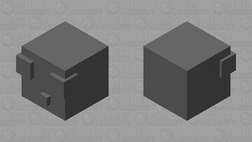 Finally,a grey one! Minecraft Mob Skin