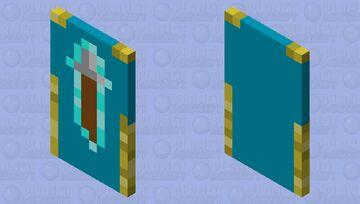 Representative Cape (Ocean) Minecraft Mob Skin