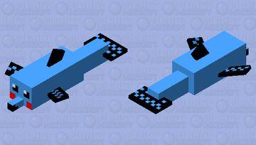 O golfinho fofo Minecraft Mob Skin