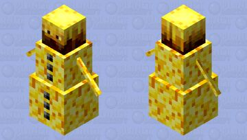 Fire? I think you meant hot snow! Minecraft Mob Skin