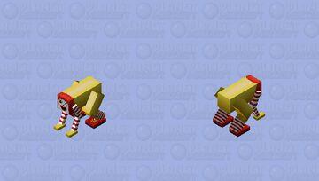 RONALD MCDONALD Minecraft Mob Skin