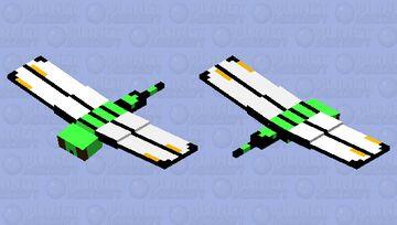Green Skimmer Dragonfly Minecraft Mob Skin