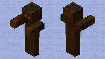 Murkin (Mud Golem) Minecraft Mob Skin