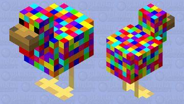 Party Chicken! Minecraft Mob Skin