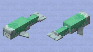 Mossy Manatee Minecraft Mob Skin
