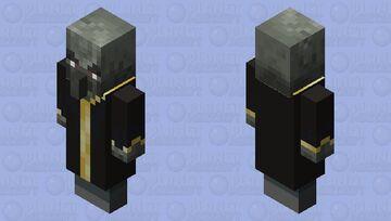 Zombie evoker by ALEXYSSSJ4 Minecraft Mob Skin