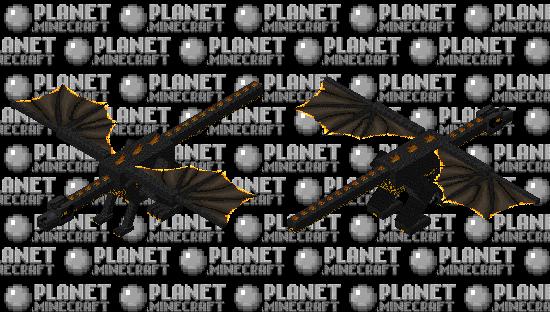 Cinder Dragon: Winterhaven Beasts and Baddies Minecraft Skin