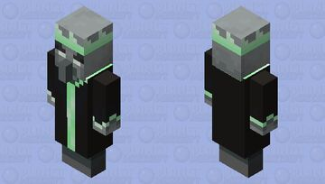 King of Gems (green) Minecraft Mob Skin