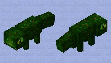 Prehistoric gecko (java) Minecraft Mob Skin
