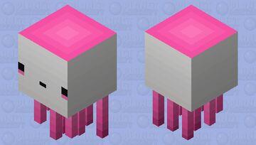Cotton Candy Ghast Minecraft Mob Skin