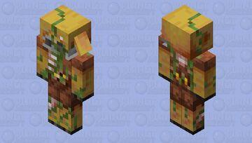 Zombie Piglin Human Minecraft Mob Skin