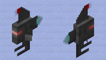 Small spaceship Minecraft Mob Skin