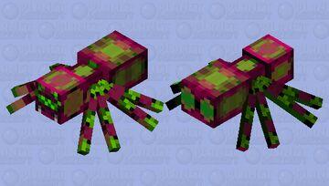 Trippy Tarantula Minecraft Mob Skin