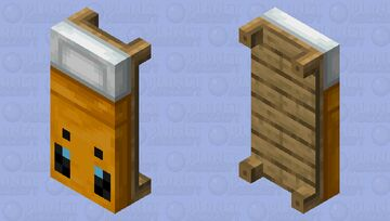 Bee bed Minecraft Mob Skin