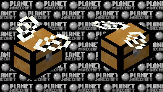 Flying Chest (Bee) Minecraft Skin