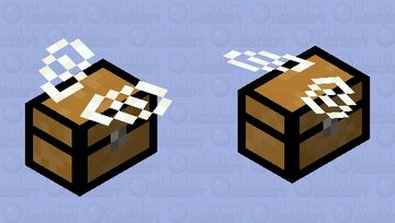 Flying Chest (Bee) Minecraft Mob Skin