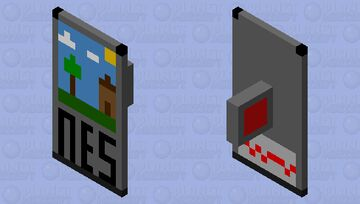 Shield Cartridge (1980s) Minecraft Mob Skin
