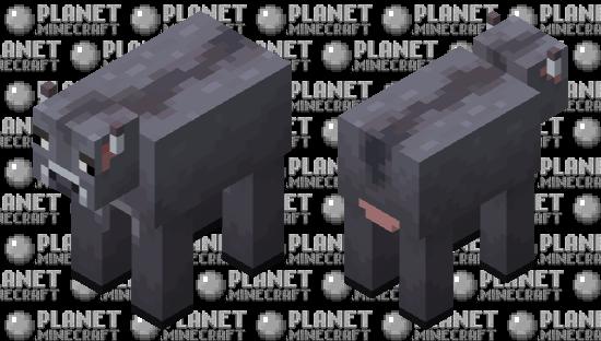ashen cow (minecraft earth) Minecraft Skin