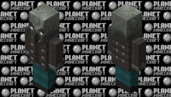 Zombie vindicator by ALEXYSSSJ4 Minecraft Skin