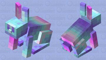 Retro Bunny Minecraft Mob Skin