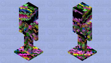 Colour CRAZY Stand Minecraft Mob Skin