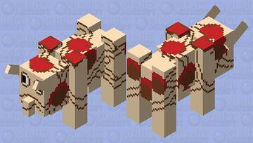 Spaghetti Monster Ravager Minecraft Mob Skin