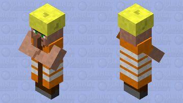 Construction Villager Minecraft Mob Skin