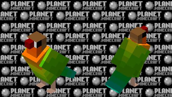 Fischer lovebird Minecraft Skin