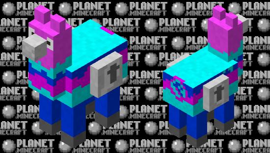 Fortnite Lucky Llama Minecraft Skin