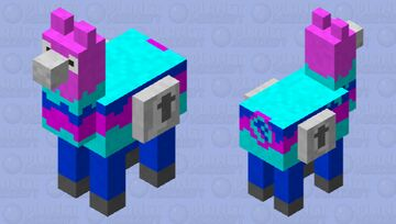 Fortnite Lucky Llama Minecraft Mob Skin