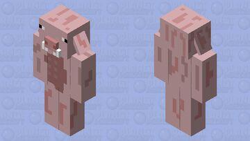 Noone made java model pigman so I did Minecraft Mob Skin